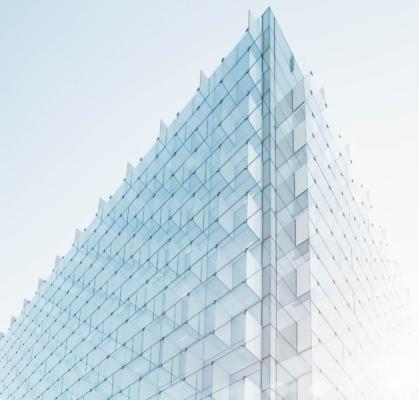 Glassbygning